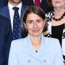 Berejiklian's new massive cabinet sworn in amid peals of laughter