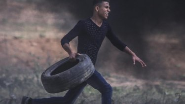 Abdul Fattah Abdul Nabi, a 19-year-old Palestinian, was shot dead during Friday's protests in the Gaza Strip.