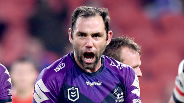 Cameron Smith is weighing up a call on his future.