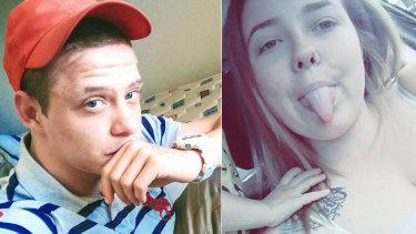 Sentenced: Matthew Leuthwaite and Brooke Brown.