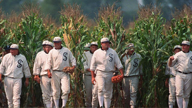 Sports movie with heart: Field of Dreams.