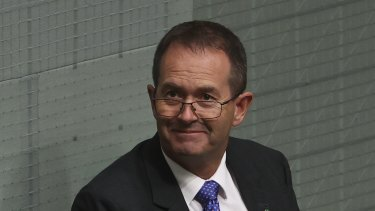 LNP MP Andrew Wallace chaired the cross-party committee.