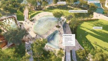 Concept image of the Victoria Park development in Brisbane.