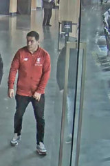 The man, who is thought to be in his 40s,  was wearing a Liverpool Football Club guernsey.