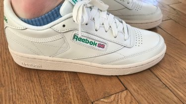 The 1980s' Reebok Club C, which today costs $130 new, is making a comeback.