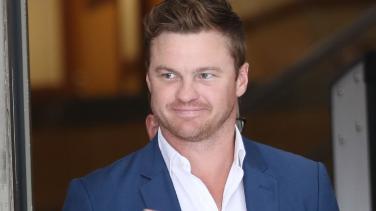 Former AFL player Colin Sylvia, pictured here in 2017, has died in a car accident near Mildura.