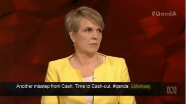 'Set a better example': Labor's Tanya Plibersek said politicians need to stop spreading rumours against one another.