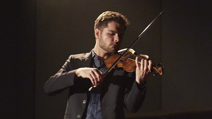 The beguiling beauty of the visiting violinist we never got to see