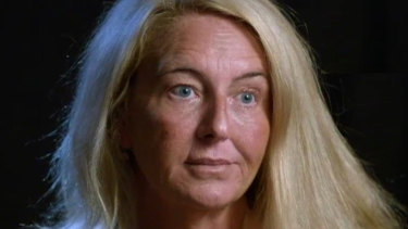 Nicola Gobbo appeared on the ABC last year, but her face wasn't seen in the royal commission on Tuesday.