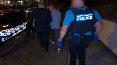 The Australian Federal Police-led operation arrested hundreds of alleged organised crime members nationwide.