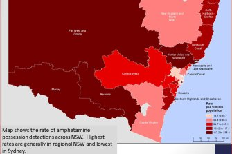 Dubbo's rate of arrests for possession is among the highest in NSW.