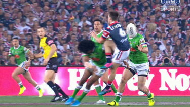 The NRL says Sia Soliola's late hit on Luke Keary should have been penalised.