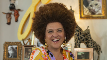 Chris Lilley as a South African pet psychic by the name of Jana.