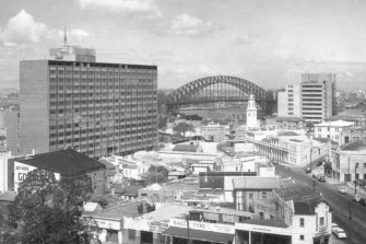 Bates Smart architecture firm says the MLC building (left) is in need of major refurbishment.