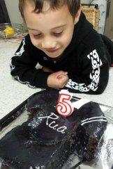 Rua Peterson on his 5th birthday.