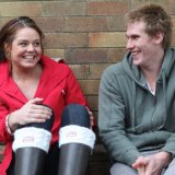 You'll do ... best friends Keesja Gofers and Scott Nicholson have a pact to marry if they're still single in their 30s.