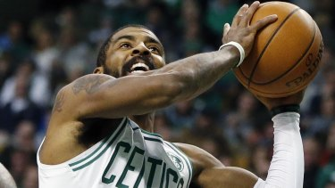 Watch this space: Kyrie Irving is tipped for an MVP year with Boston.