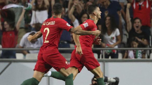 No Ronaldo, no problem as Portugal edge Italy in Nations League