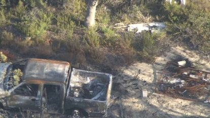 Person in custody, home raided after body found in burnt-out car in Yanchep