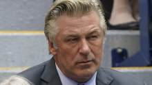 Alec Baldwin at the US Open  in September 2021.