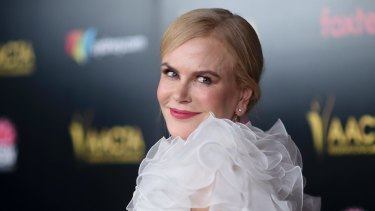 Nicole Kidman attends the 8th Annual AACTA International Awards at the Mondrian Hotel on January 4 in West Hollywood.