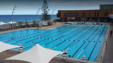 This style of beach pool at Scarborough could be duplicated at Alkimos.
