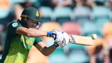 David Miller helped secure victory for South Africa in the decider against Australia this summer.