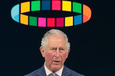 Prince Charles speaks at the World Economic Forum for the first time in 30 years.