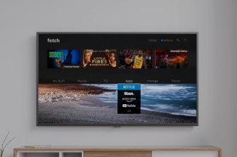 Fetch TV's latest update has added a universal search function.