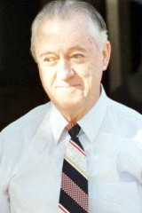 Former Queensland police commissioner Terry Lewis is released from prison in 1998. He was as bent as a banana.