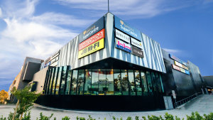 Aventus owns 20 homemaker centres including the Belrose Super Centre in Sydney.