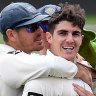 Abbott rips through Tasmania as NSW book Shield final berth