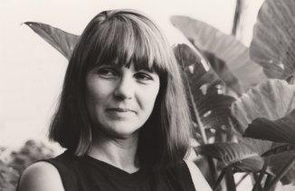 Art curator Sally Couacaud.