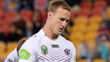 Sanctioned: Four Manly players, who have not been identified, have been fined $1500 over their night out in Gladstone. Daly Cherry-Evans had already been fined.