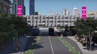 Cyclists flag Brisbane Metro design flaw