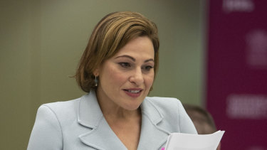Treasurer Jackie Trad handed down her second budget on Tuesday.