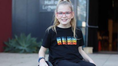 'Empowered, supported, valued': Perth student with disability takes control of her own learning