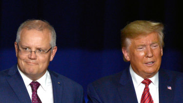 President Donald Trump has called Prime Minister Scott Morrison to offer his support in the national bushfire crisis.