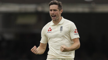 Destroyer: Chris Woakes has a brilliant record at Lord's.