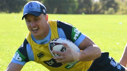 Wighton reaches out to Canberra captain for tips on mastering centre