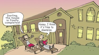 Downsizing your home to top up superannuation can generate more income for retirement.