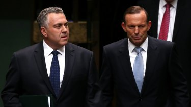 Under Treasurer Joe Hockey, the Abbott government in 2014 introduced a budget repair levy on high-income earners to help bring down the deficit.