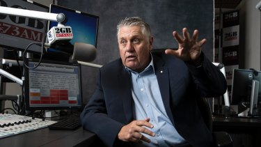 Ray Hadley is being sued by developer Jean Nassif.
