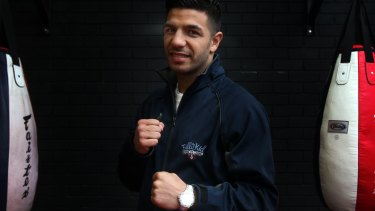 Hanging up the gloves: Billy Dib.