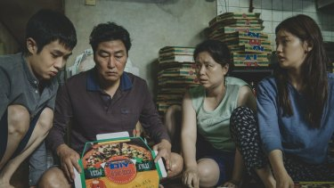 A still from Bong Joon Ho's film Parasite.