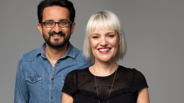 ABC breakfast hosts Sami Shah and Jacinta Parsons replaced Red Symons.