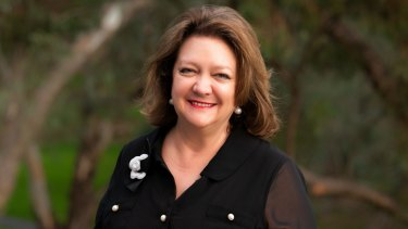 Gina Rinehart was honoured for her contribution to WA mining at the Diggers and Dealers conference on Wednesday.