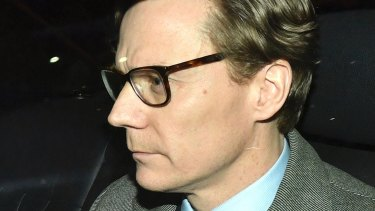 Cambridge Analytica chief Alexander Nix.