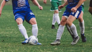 The ACT government are working with sporting clubs to improve fields.