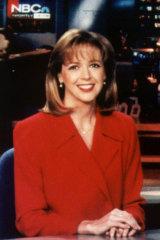 Linda Vester at NBC in 1998.